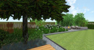nowoczesne ogrody - projektowanie ogrodów Poznań - trawy bambusowe