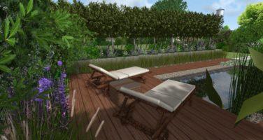 duży projekt ogrodu w Gdyni nowoczesny ogród basen altana ogrodowa rfstudio Rockandflower studio (12)