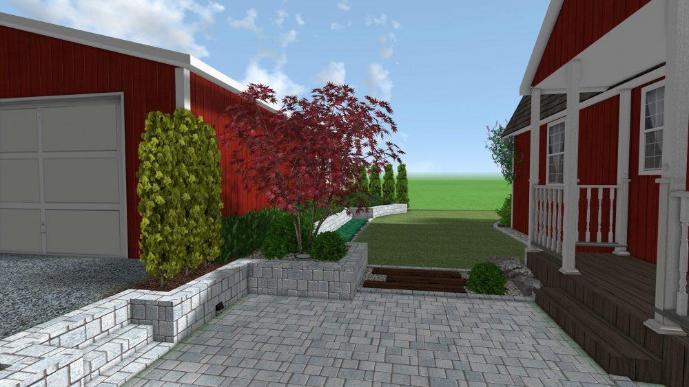 projekt ogrodu w Szwecji rockandflower studio