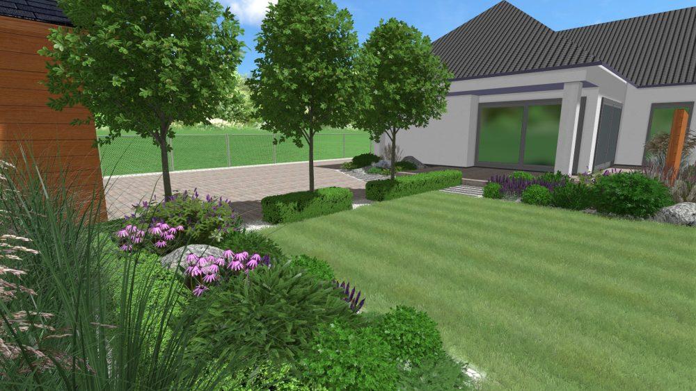 projekt ogrodu wielkopolska cena projektowanie zieleni rockandflower studio