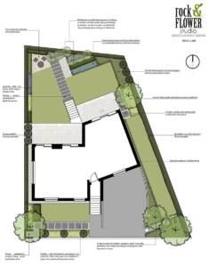 projekt ogrodu Poznań, ogród nowoczesny, projekt nowoczesnego ogrodu, ogród geometryczny