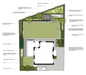 prosty ogród w Luboniu projekt ogrodu projektowanie ogrodów rockandflowerstudio rfstudio