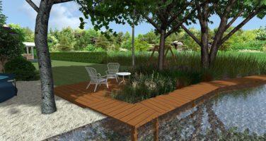 projekt ogrody nad morzem Darłowo Rockandflower studio rfstudio architektura krajobrazu
