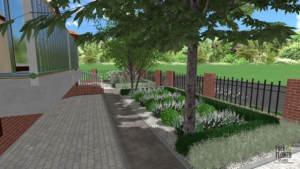 projekt ogrodu Poznaniu, projektowanie ogrodów poznań, architekt krajobrazu poznań, ogrody Poznań