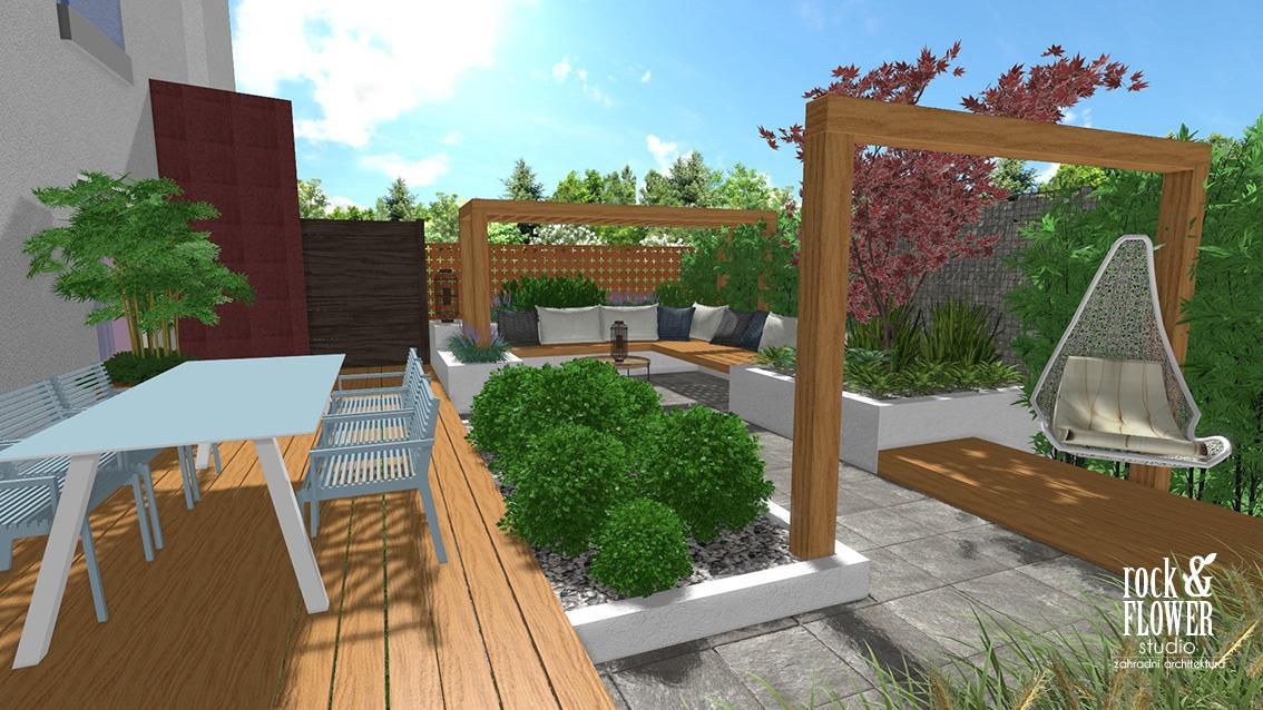 Ogród Na Tarasie Pracownia Architektury Krajobrazu I