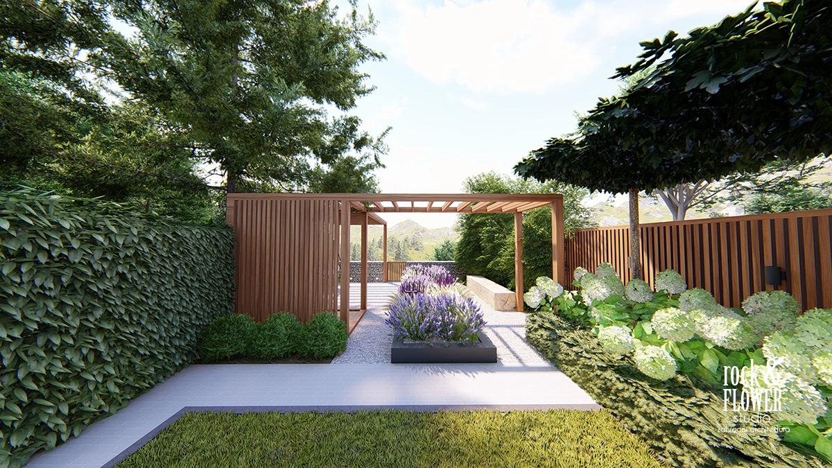 projekt małego ogrodu Poznań