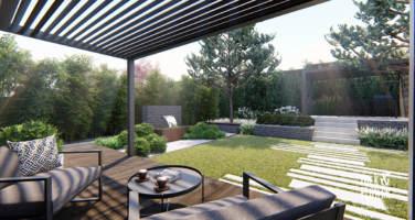 projekty nowoczesnych ogrodów Poznań